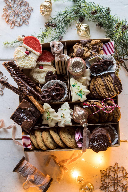 2018 Holiday Cookie Box | halfbakedharvest.com #cookies #cookies #chocolate #Christmas #gifts