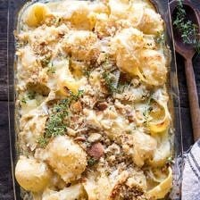Baked Brie Mac and Cheese | halfbakedharvest.com #macandcheese #brie #pasta