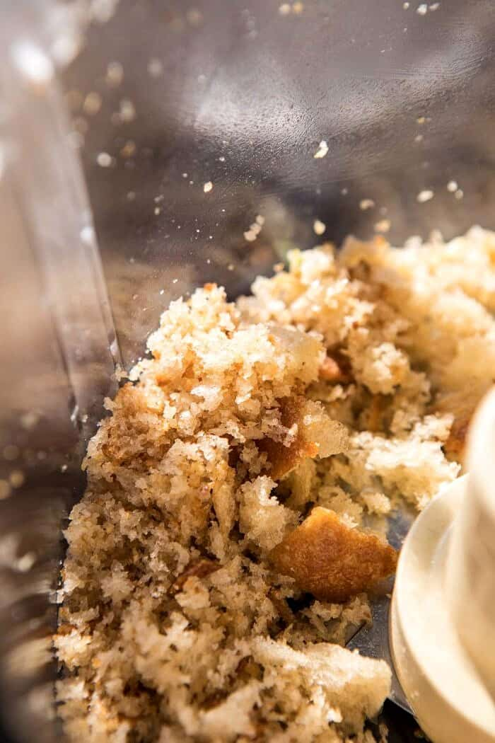 sourdough bread crumbs