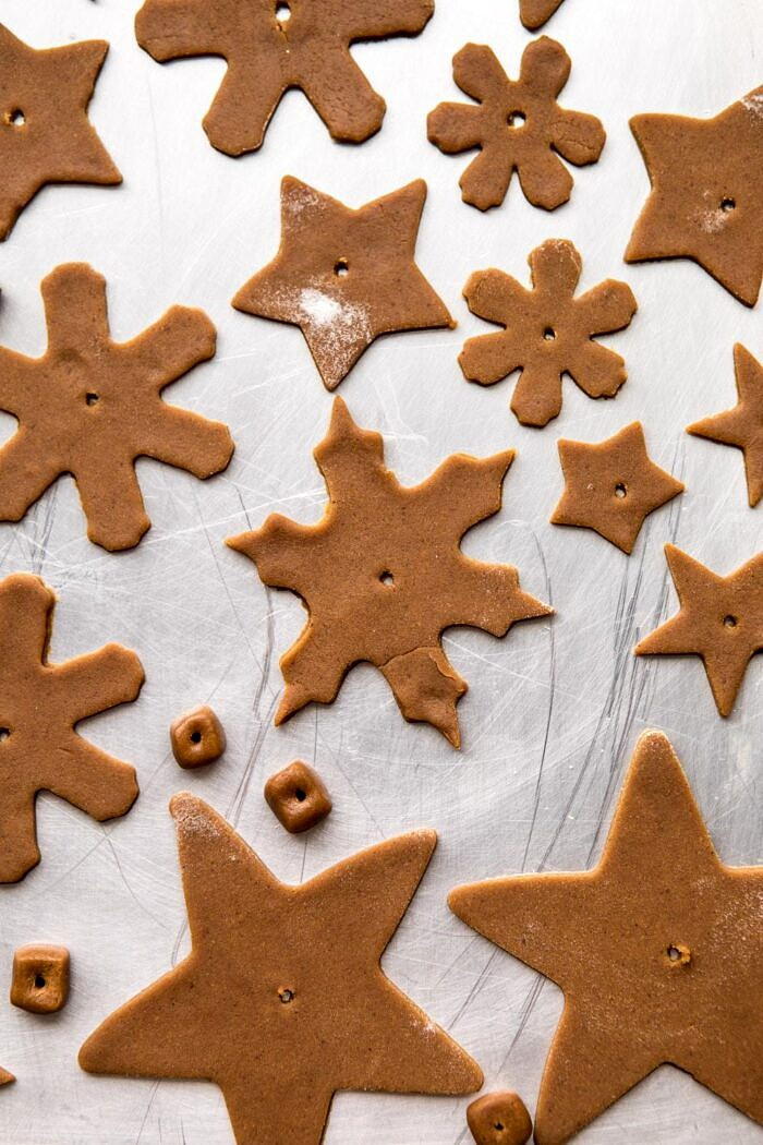 gingerbread cookies before baking