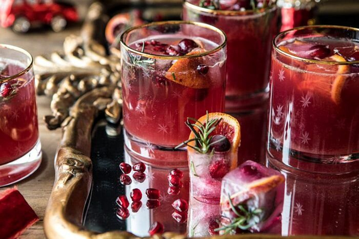 horizontal photo of Holiday Cheermeister Bourbon Punch