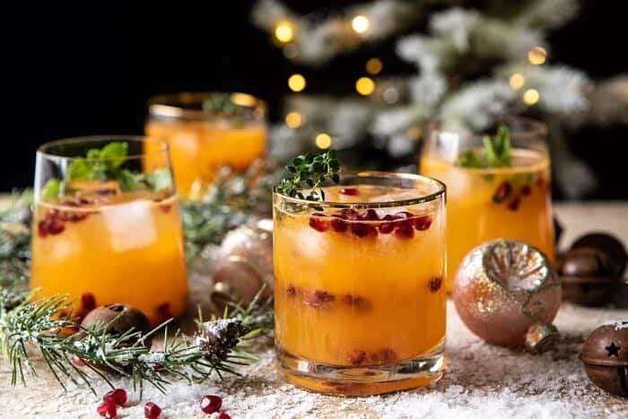 horizontal photo of Holy Jolly Christmas Citrus Cocktail