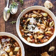 Instant Pot Pasta e Fagioli.