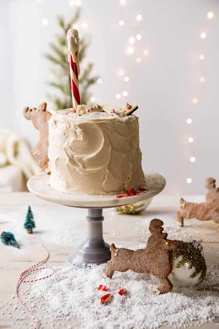 front on photo of North Pole Cake
