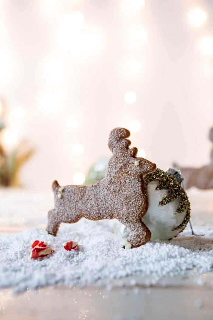 North Pole Cake | halfbakedharvest.com #chocolatecake #christmas #holiday #dessert