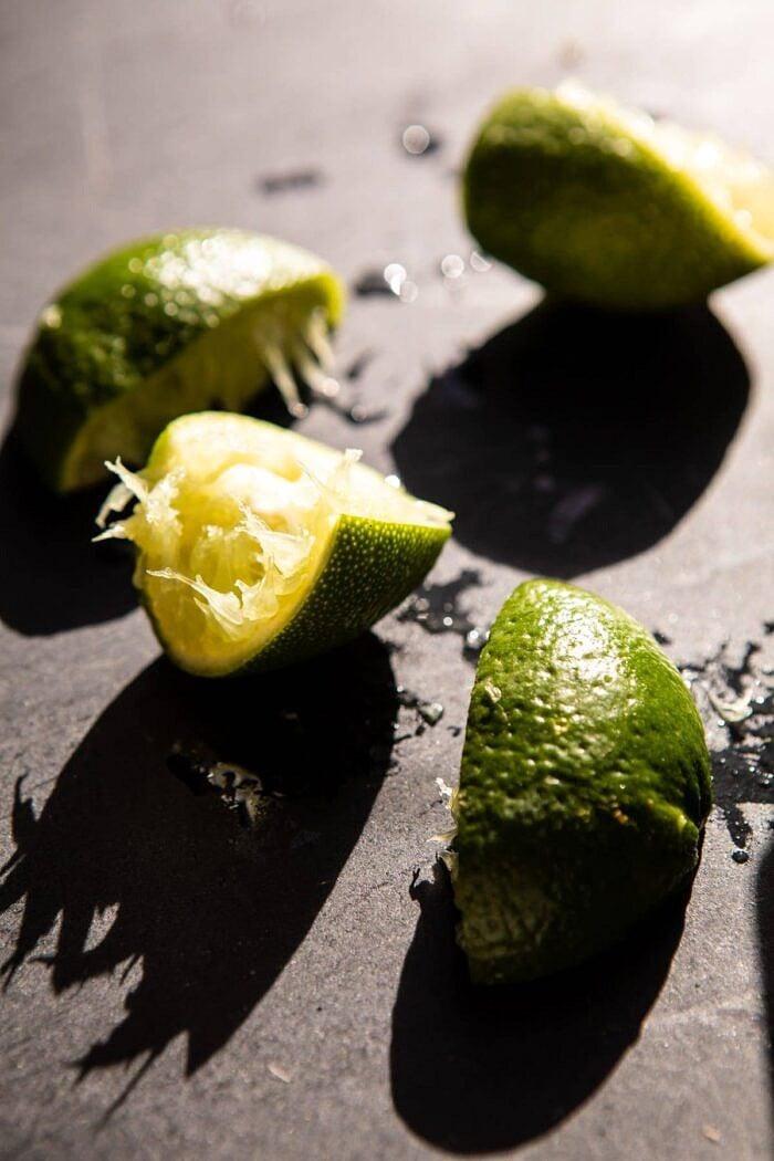 Spicy Turkey Taco Salad with Baja Dressing | halfbakedharvest.com #tacos #salad #avocado #healthyrecipes #mexican #easyrecipes