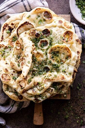 Herbed Garlic Butter Naan.