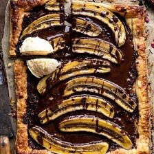 Warm Chocolate Banana Galette.