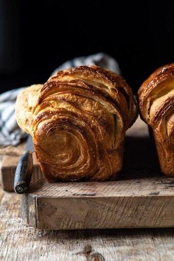 Flaky Honey Brioche Bread | halfbakedharvest.com #bread #brioche # homemadebread #breakfast #brunch