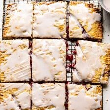 Giant Strawberries n' Cream Pop Tart.