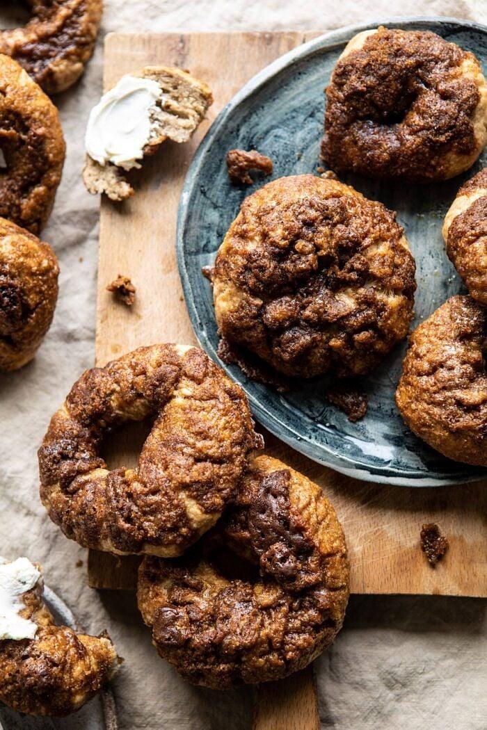 3a061fd555c8 Homemade Cinnamon Crunch Bagels. - Half Baked Harvest