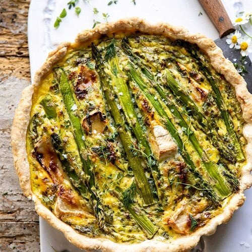 Asparagus And Brie Quiche Half Baked Harvest
