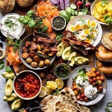 Ultimate Spring Brunch Board | halfbakedharvest.com #brunch #breakfast #potatoes #spring #summer #easter #mothersday