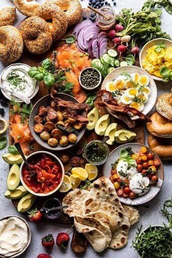 Ultimate Spring Brunch Board | halfbakedharvest.com #brunch #breakfast #potatoes #spring #summer #easter #mothersday