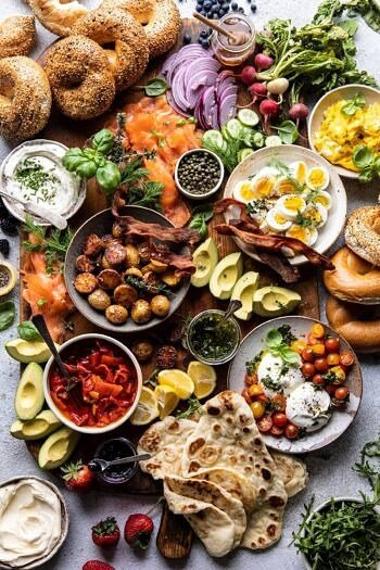 Ultimate Spring Brunch Board.