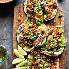 Instant Pot Korean Bulgogi BBQ Tacos.