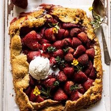 Jammy Strawberry Galette.