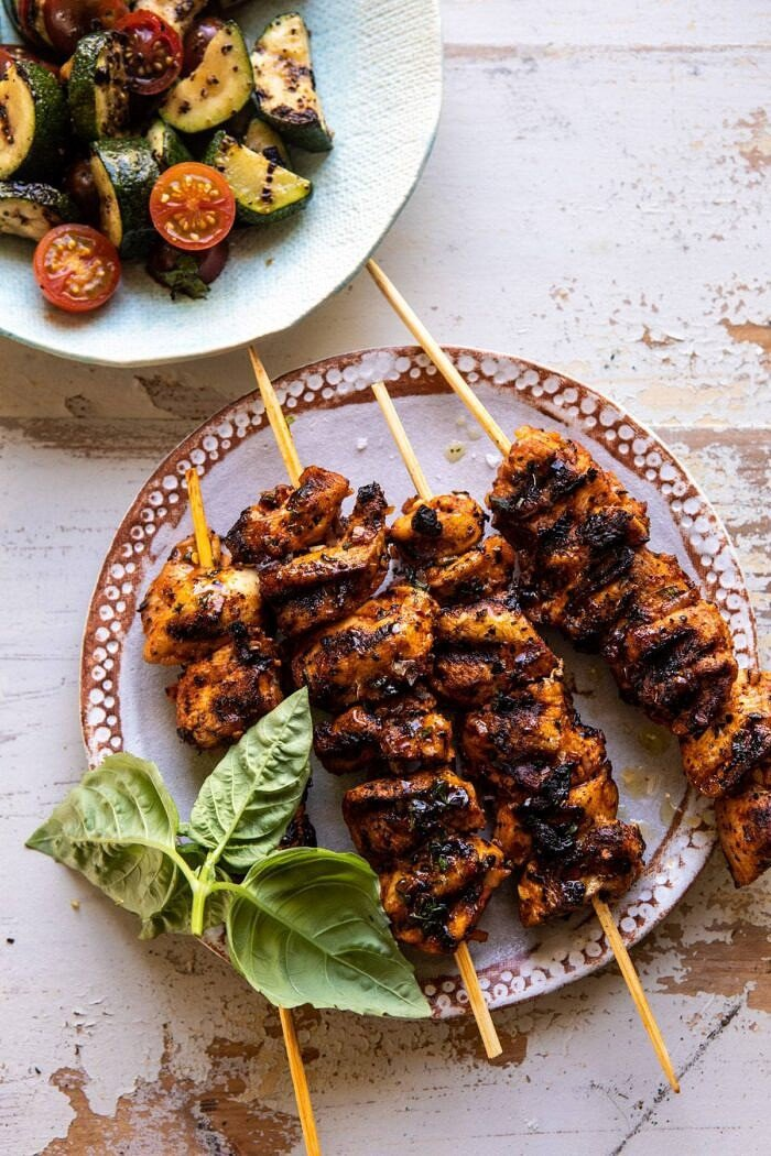 Chicken Souvlaki skewers