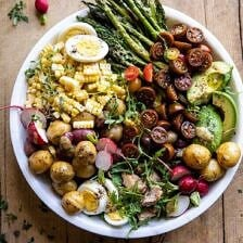 Summer Niçoise Salad.