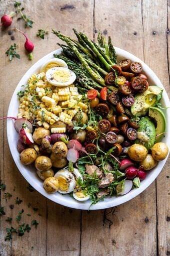 Summer Niçoise Salad | halfbakedharvest.com #salad #summerrecipes #healthy