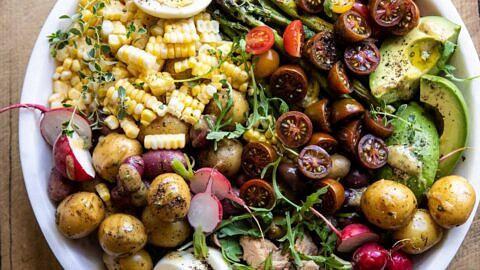 Summer Niçoise Salad.