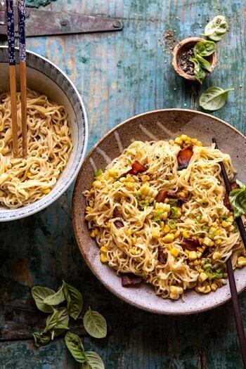 20 Minute Ramen Carbonara | #ramen #noodles #easyrecipes