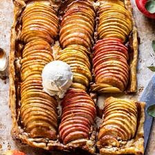 Chai Spiced Apple Ricotta Galette.