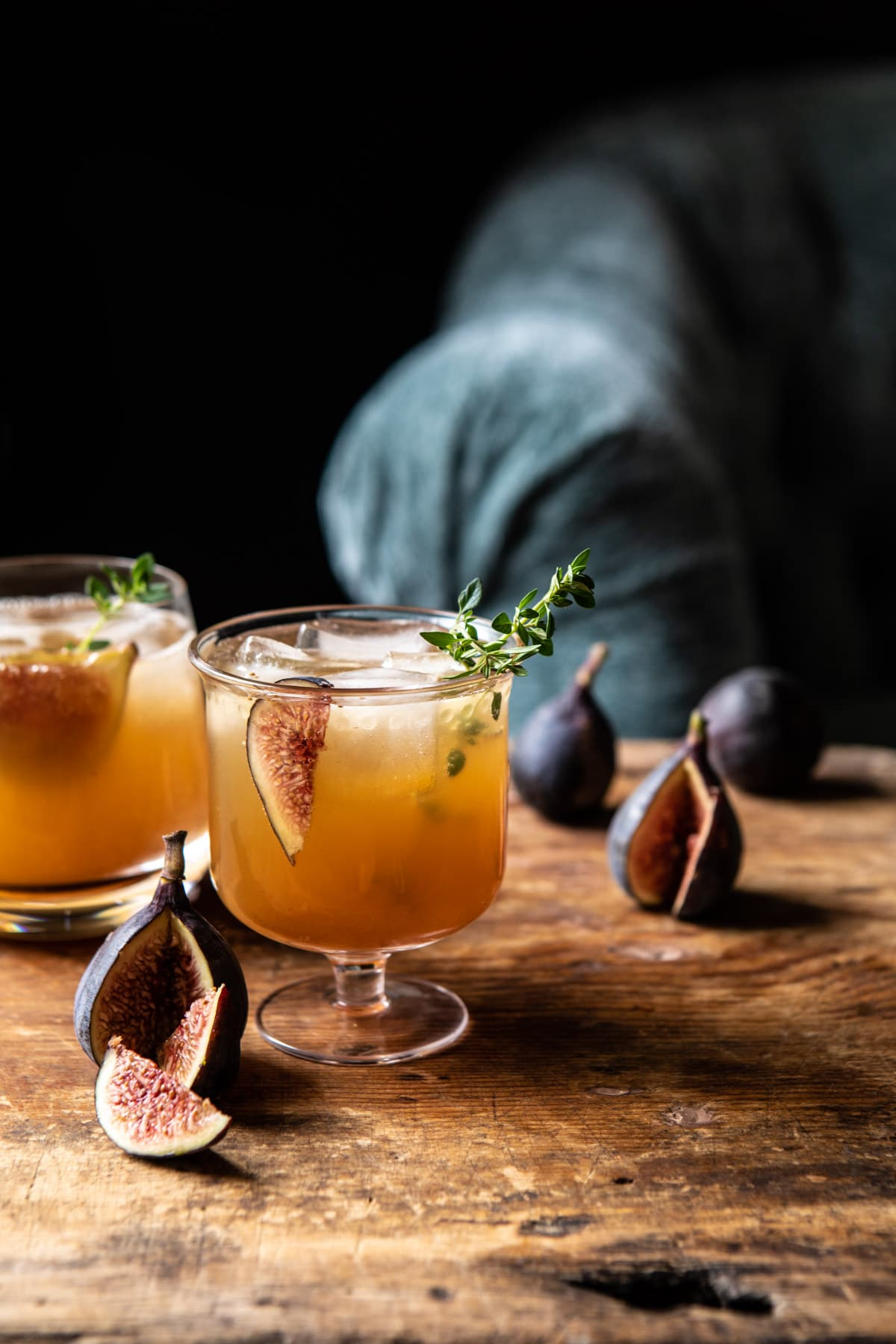 Fig Dark and Stormy   halfbakedharvest.con #fall #autumn #drinks #cocktails