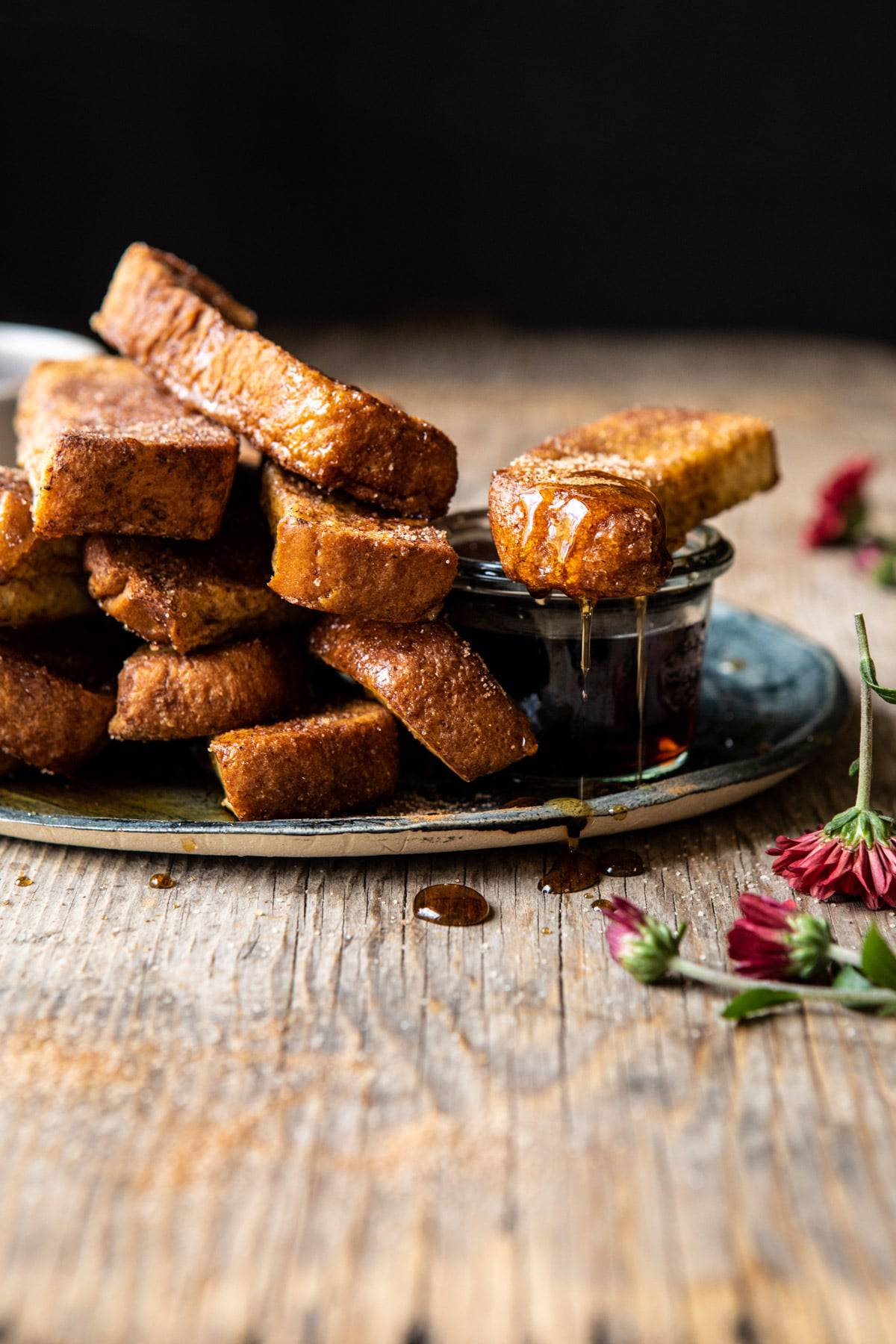 Cinnamon Sugar French Toast Sticks Half Baked Harvest