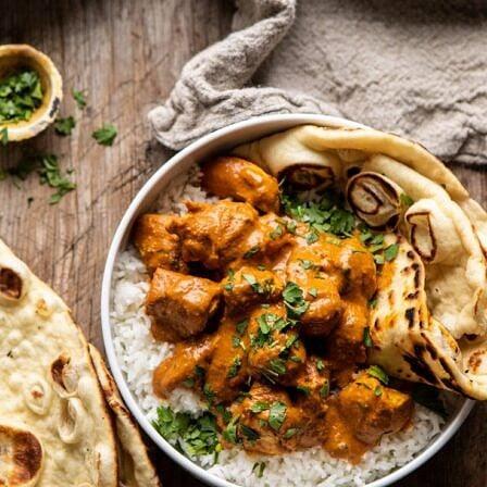 Super Simple Coconut Chicken Tikka Masala   halfbakedharvest.com #Indian #healthyrecipes #chicken #easy #fast