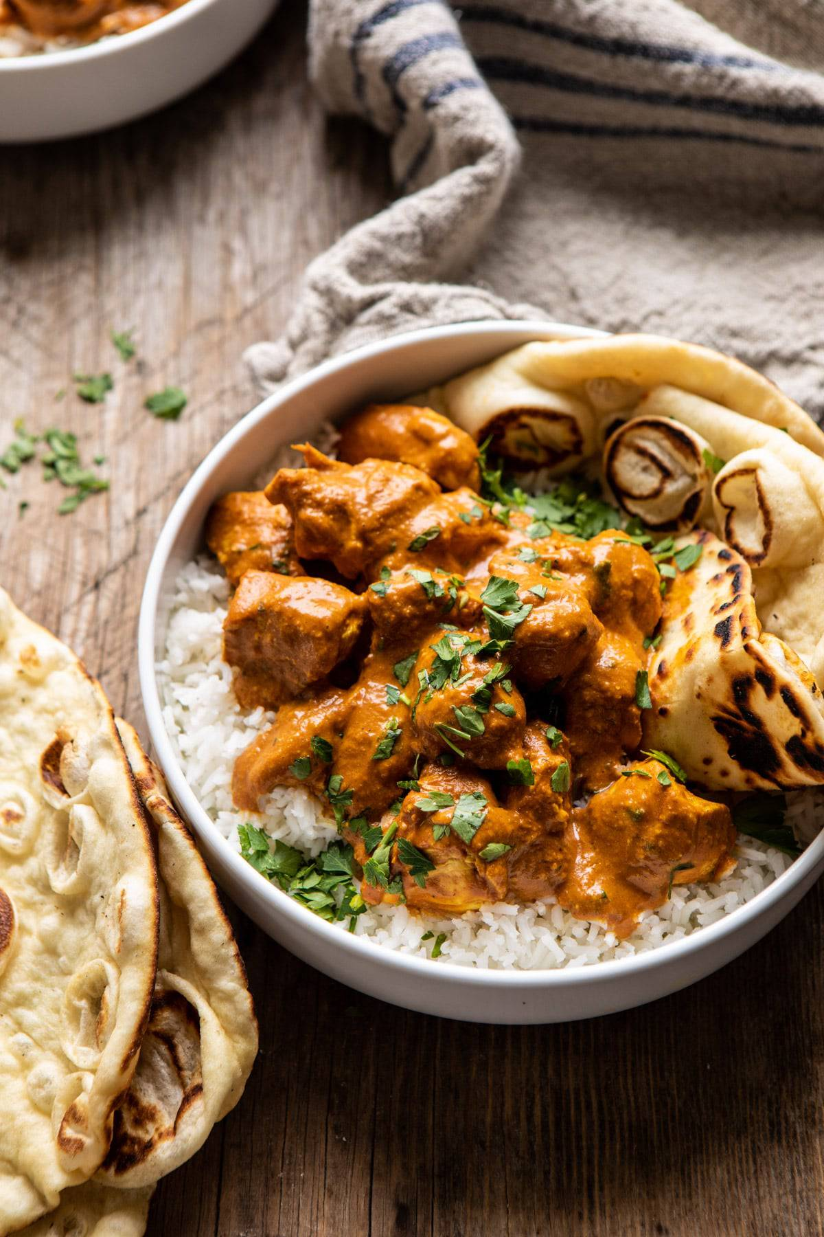Super Simple Coconut Chicken Tikka Masala | halfbakedharvest.com #Indian #healthyrecipes #chicken #easy #fast
