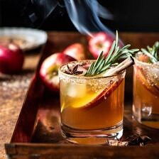 Smoky Harvest Apple Cider Margarita.