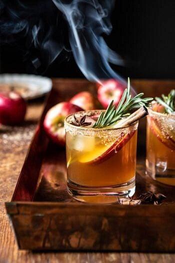 Smoky Harvest Apple Cider Margarita.