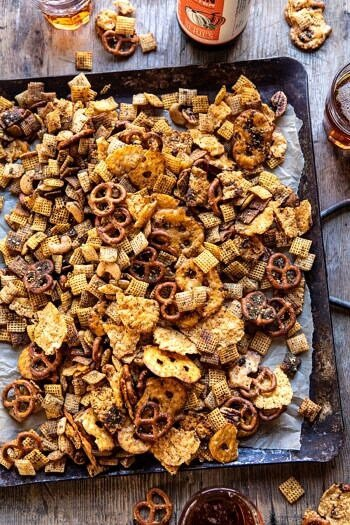 Spicy Ranch Chex Mix.
