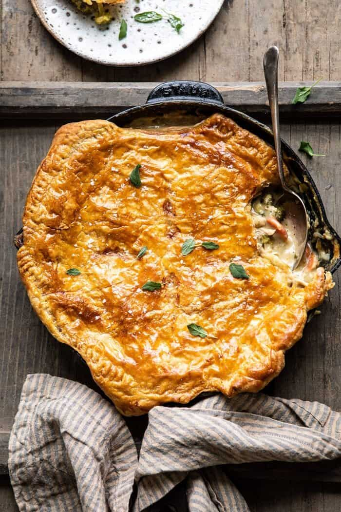 Browned Sage Butter Chicken Pot Pie