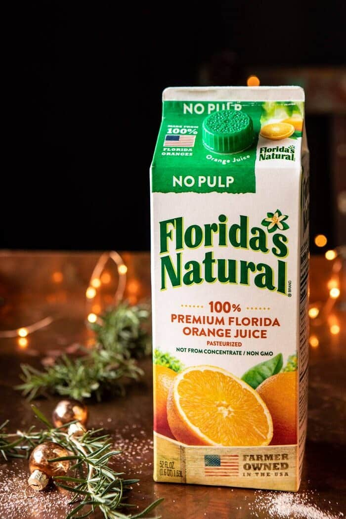 photo of orange juice carton