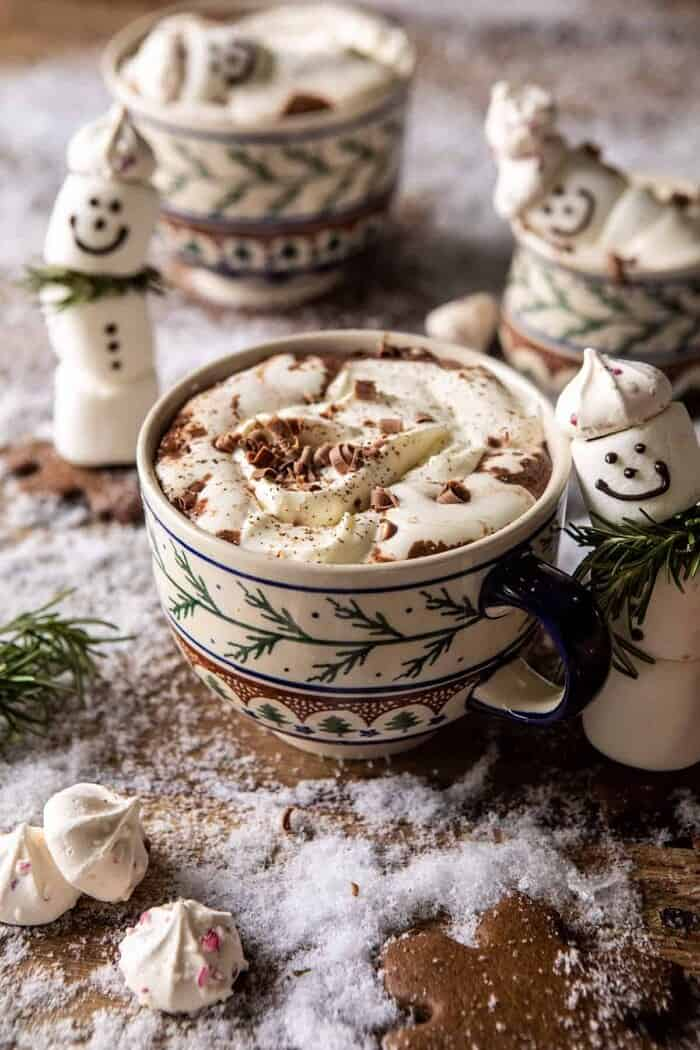 front on photo of Creamy Coconut Hot Chocolate