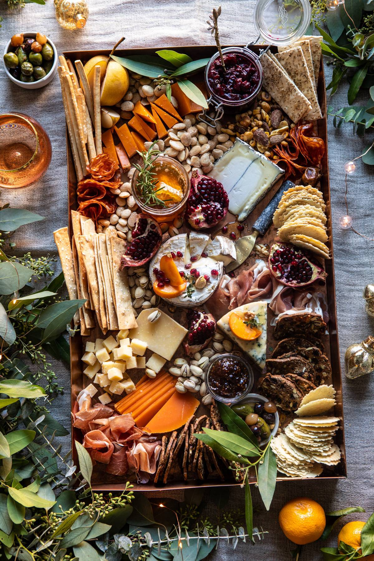 How To Make An Easy Holiday Cheese Board Half Baked Harvest