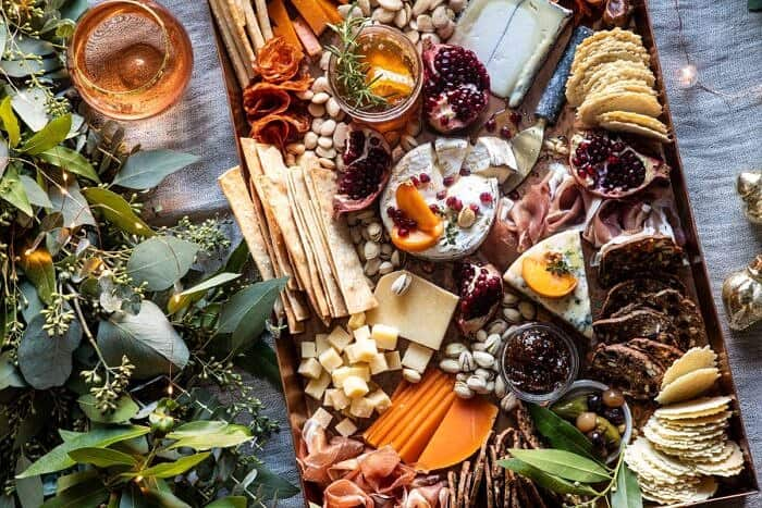 horizontal photo of How to Make an Easy Holiday Cheese Board