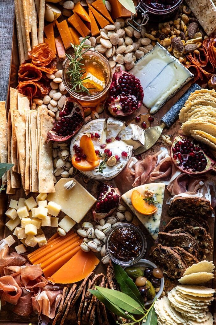 close up photo of How to Make an Easy Holiday Cheese Board