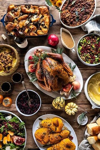 Our 2019 Thanksgiving Menu and Guide | halfbakedharvest.com #thanksgiving #thanksgivingmenu #holiday