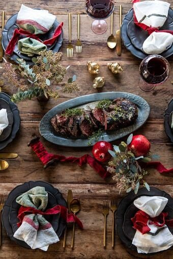 Our 2019 Christmas Eve and Christmas Dinner Menu | halfbakedharvest.com #christmasmenu