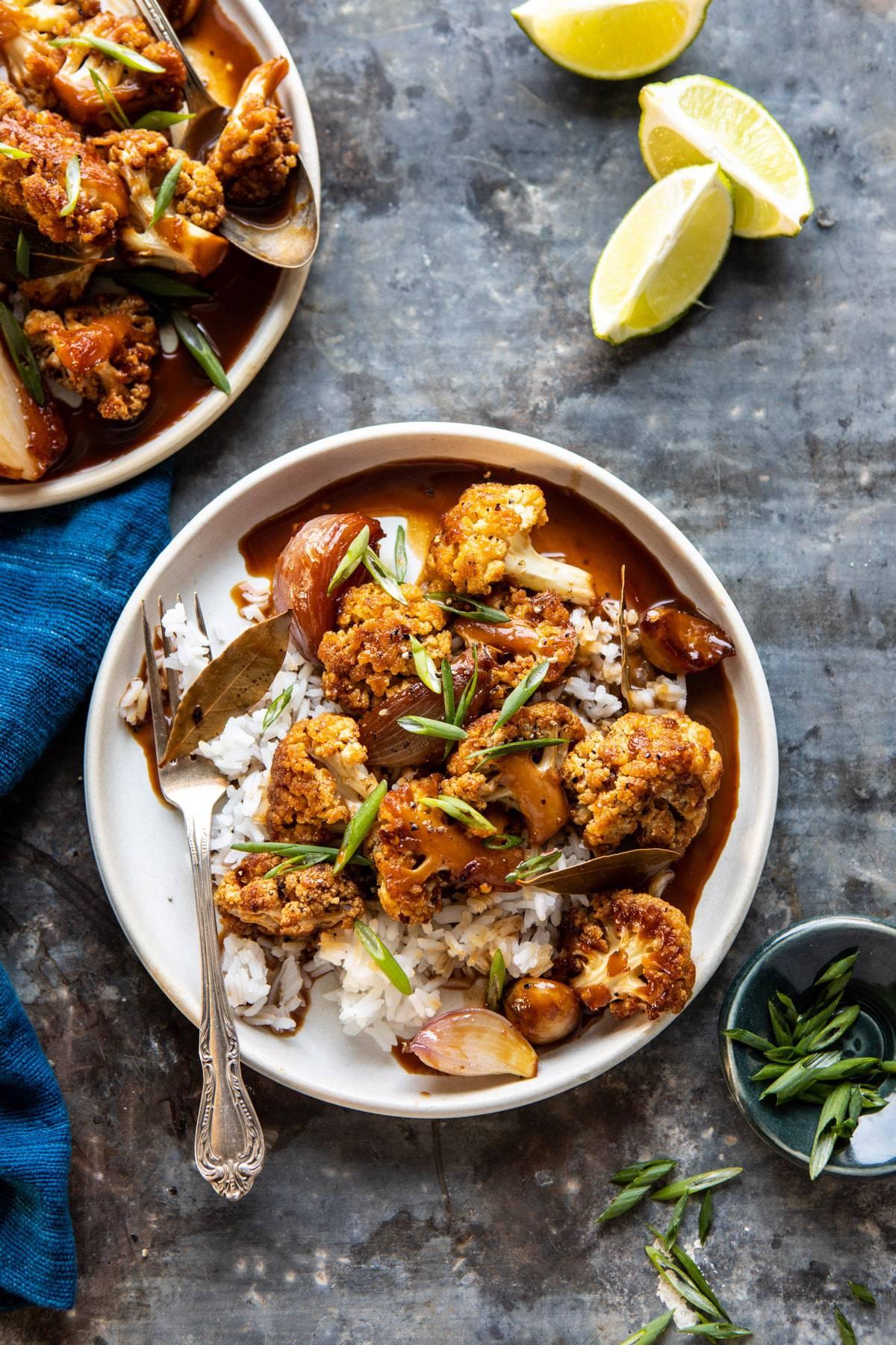 Asian Cauliflower Recipes Baked