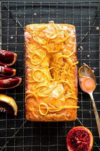 Lemon Poppyseed Cake with Citrus Honey Glaze | halfbakedharvest.com #lemon #cake #winter