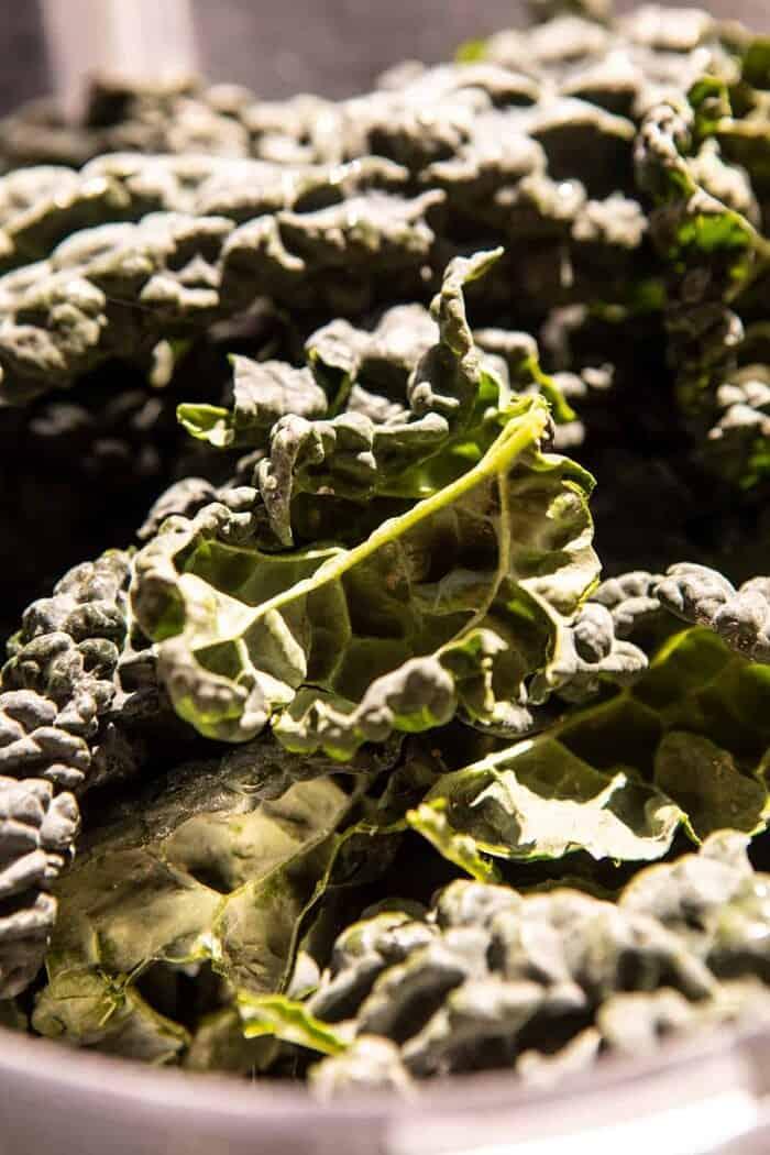 prep photo of raw kale