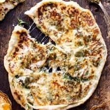 Cheesy Herb Stuffed Naan | halfbakedharvest.com