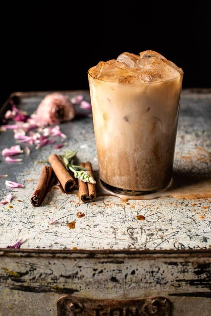 side angled close up photo of Dirty Horchata