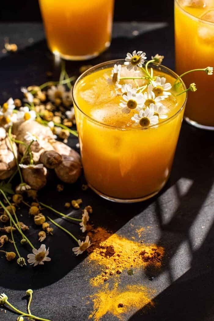 Fiery Golden Mango Tonic | halfbakedharvest.com