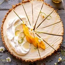 No Fuss Coconut Lime Tart.