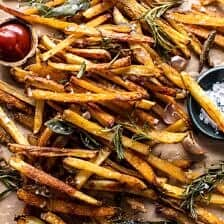 Oven Baked Tuscan Fries.